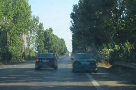Ruta escénica en coche