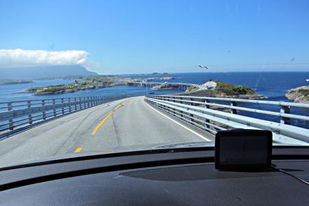 Carretera del Atlántico (Atlanterhavsveien), Noruega