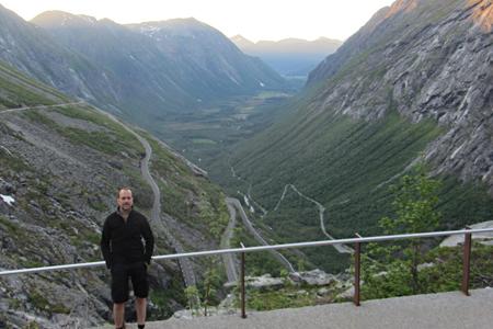Escalera del troll (Trollstigen), Noruega