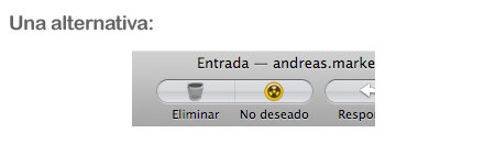Apple Mail propuesta
