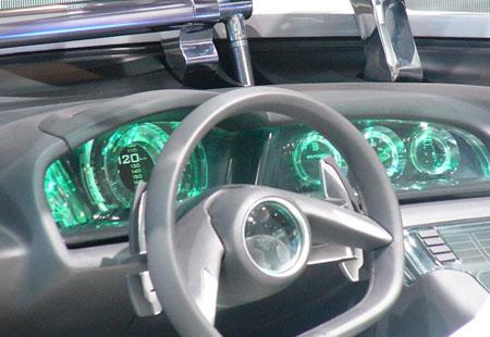 Saab Aero X cockpit