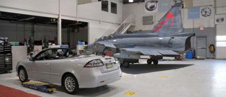 Saab avión