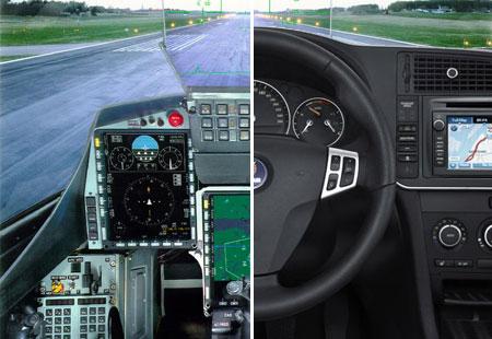 Saab cockpit