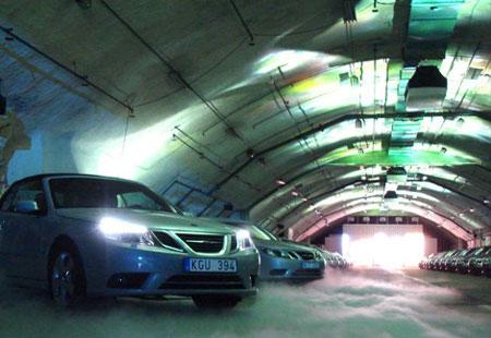Saab hangar