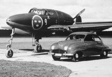 Saab planes