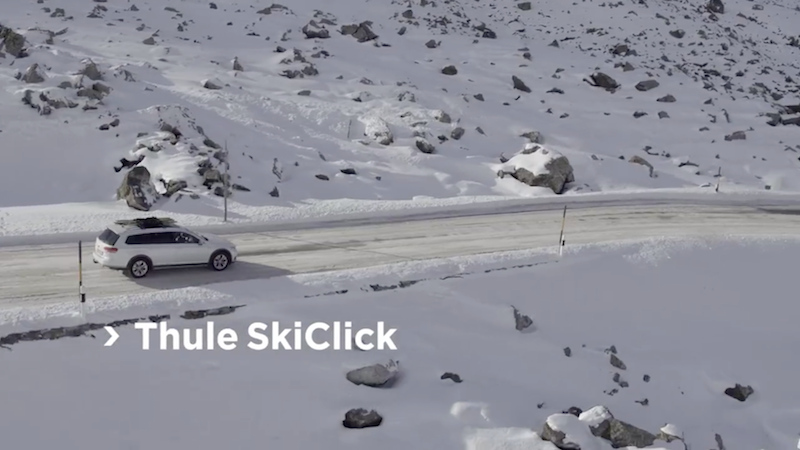 Thule SkiClick ski click carrier by Thule Sweden