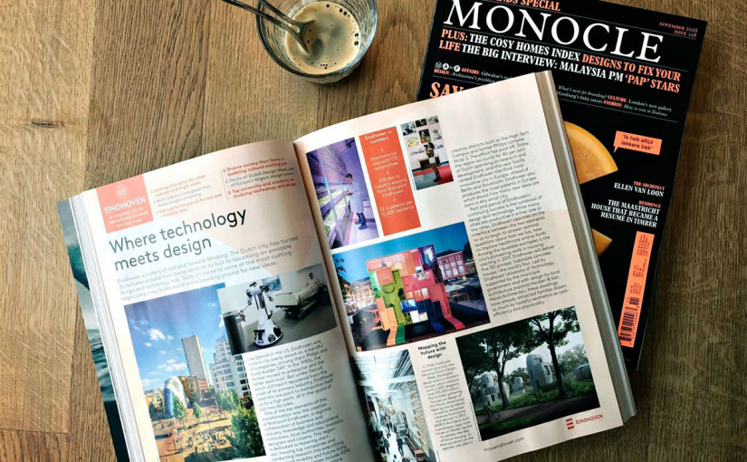 Monocle magazine's five parts: ABCDE