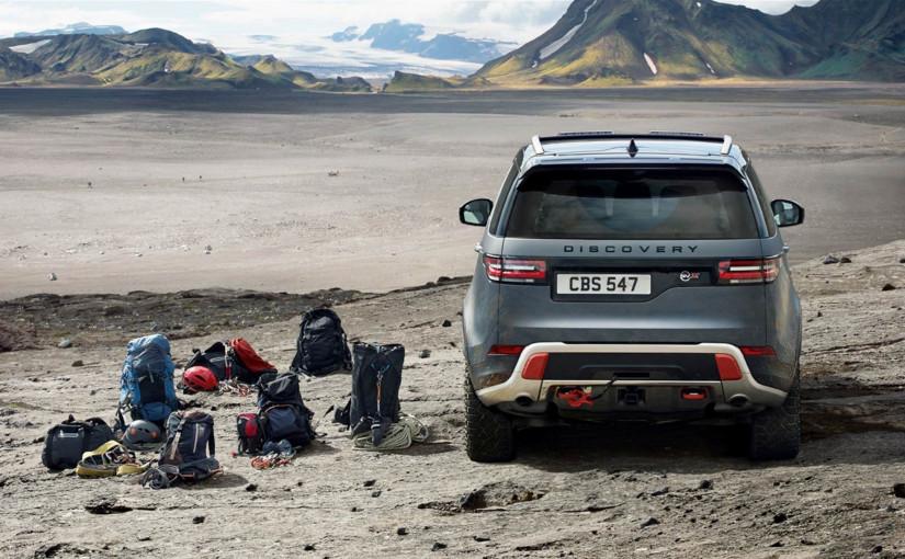 De escalada con el Land Rover Discovery SVX